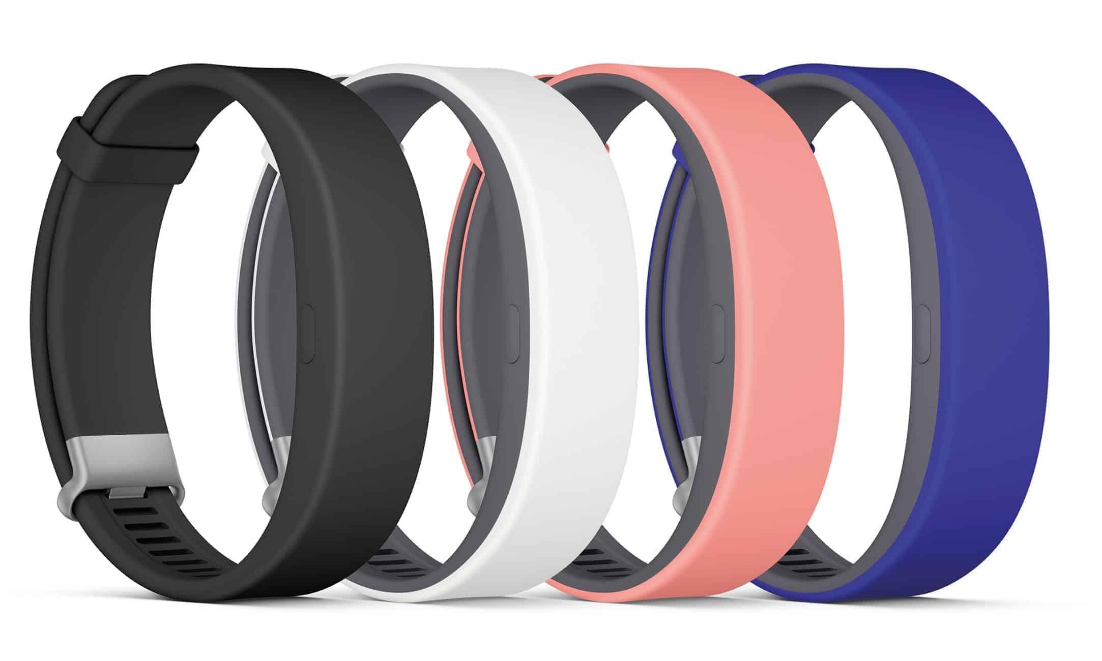 Sony SmartBand 2 SWR12 Farben