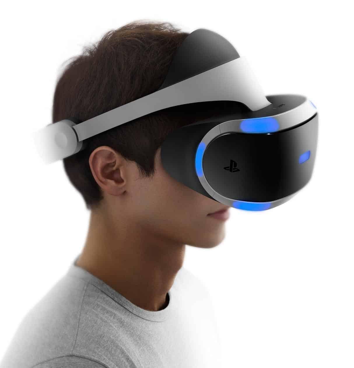 VR-Brille Project Morpheus