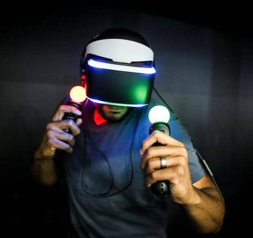 VR-Brille Project Morpheus Gameplay