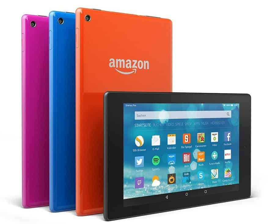 Amazon Fire HD 8 Farben