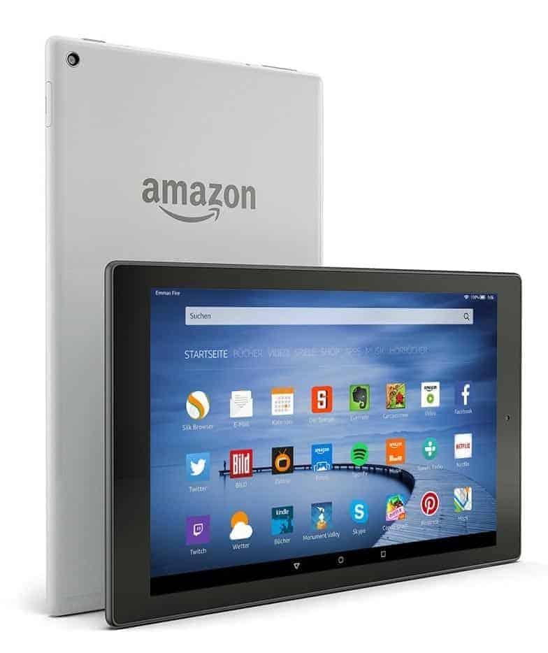 Amazon Fire HD 10 Rückseite