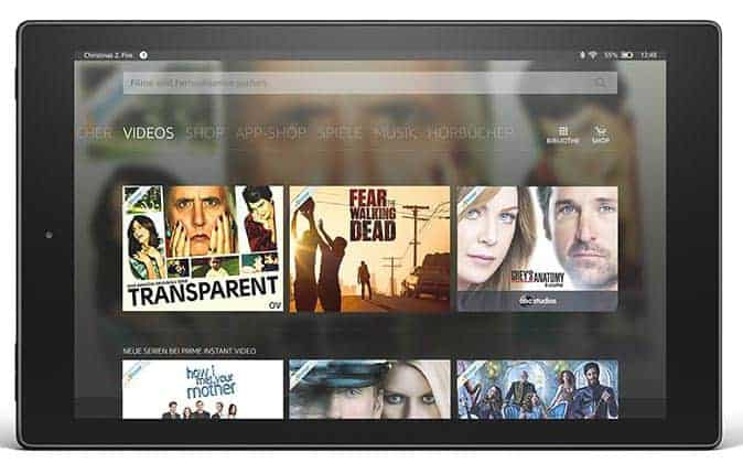Amazon Fire HD 10 Fire OS