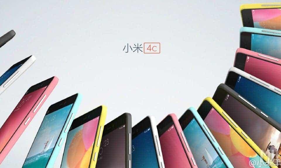 Xiaomi Mi 4c Color/Farben