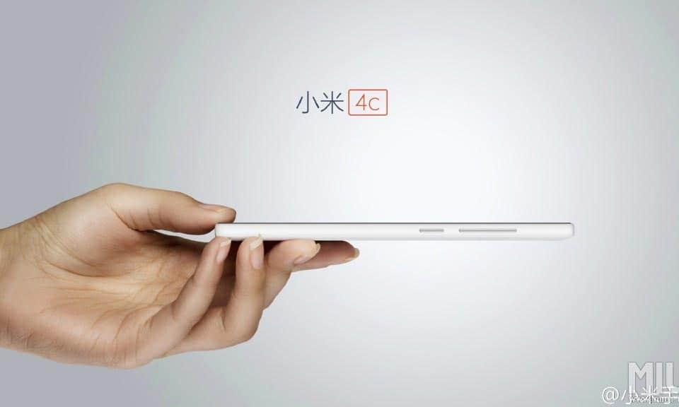 Xiaomi Mi 4c White/Weiss