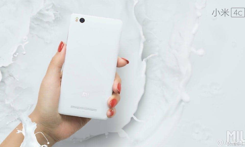 Xiaomi Mi 4c Weiss/White