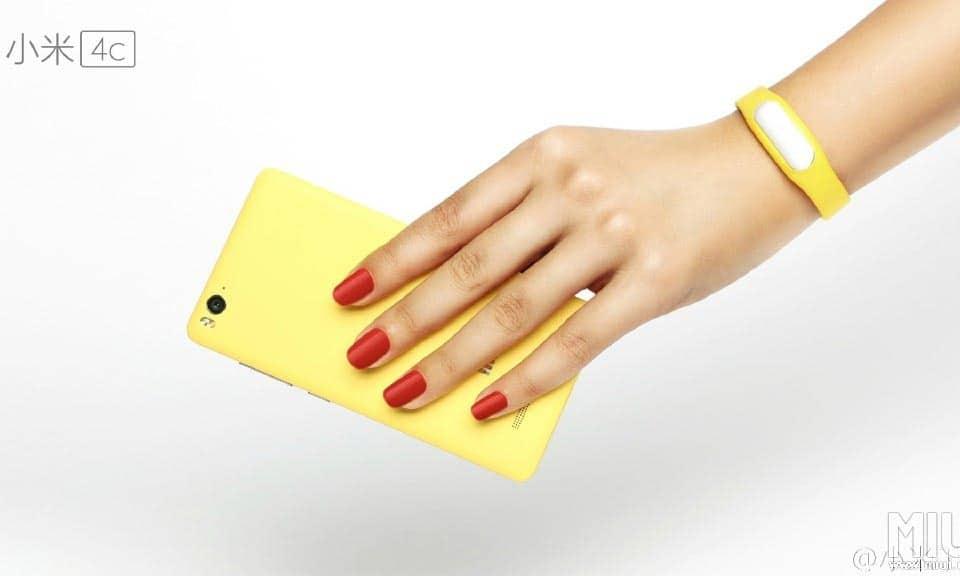Xiaomi Mi 4c Yellow/Gelb