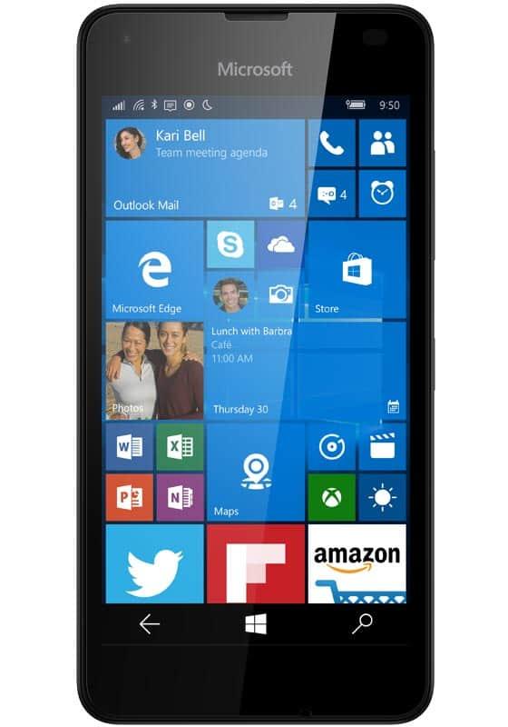 Microsoft Lumia 550 Schwarz