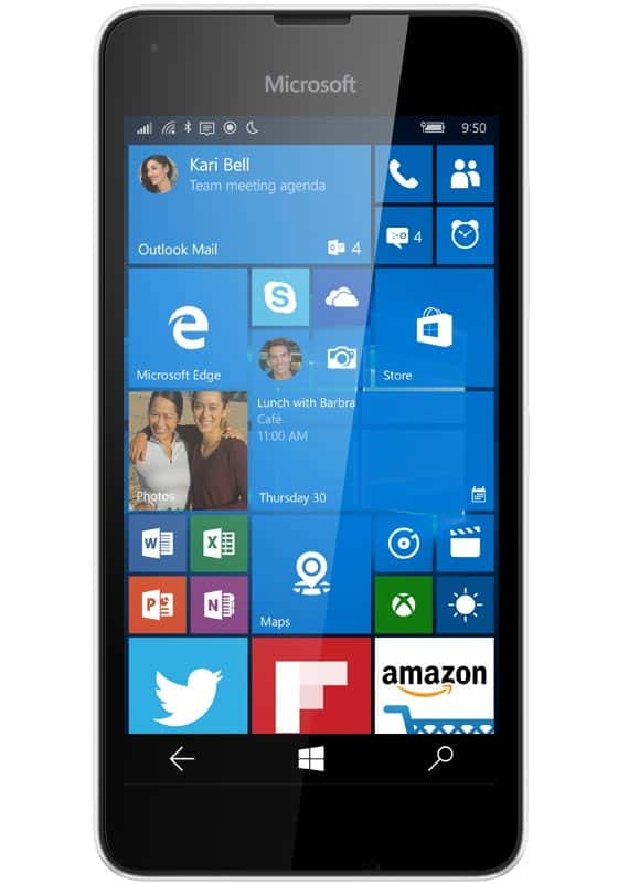 Microsoft Lumia 550 Weiss