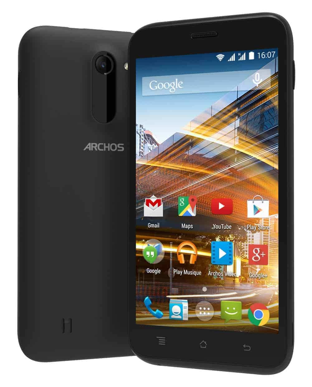 Archos 50c Neon Display