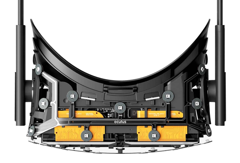 Oculus Rift Aufbau
