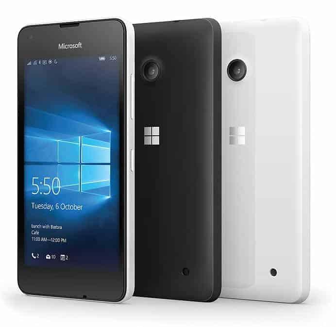 Microsoft Lumia 550 Farben