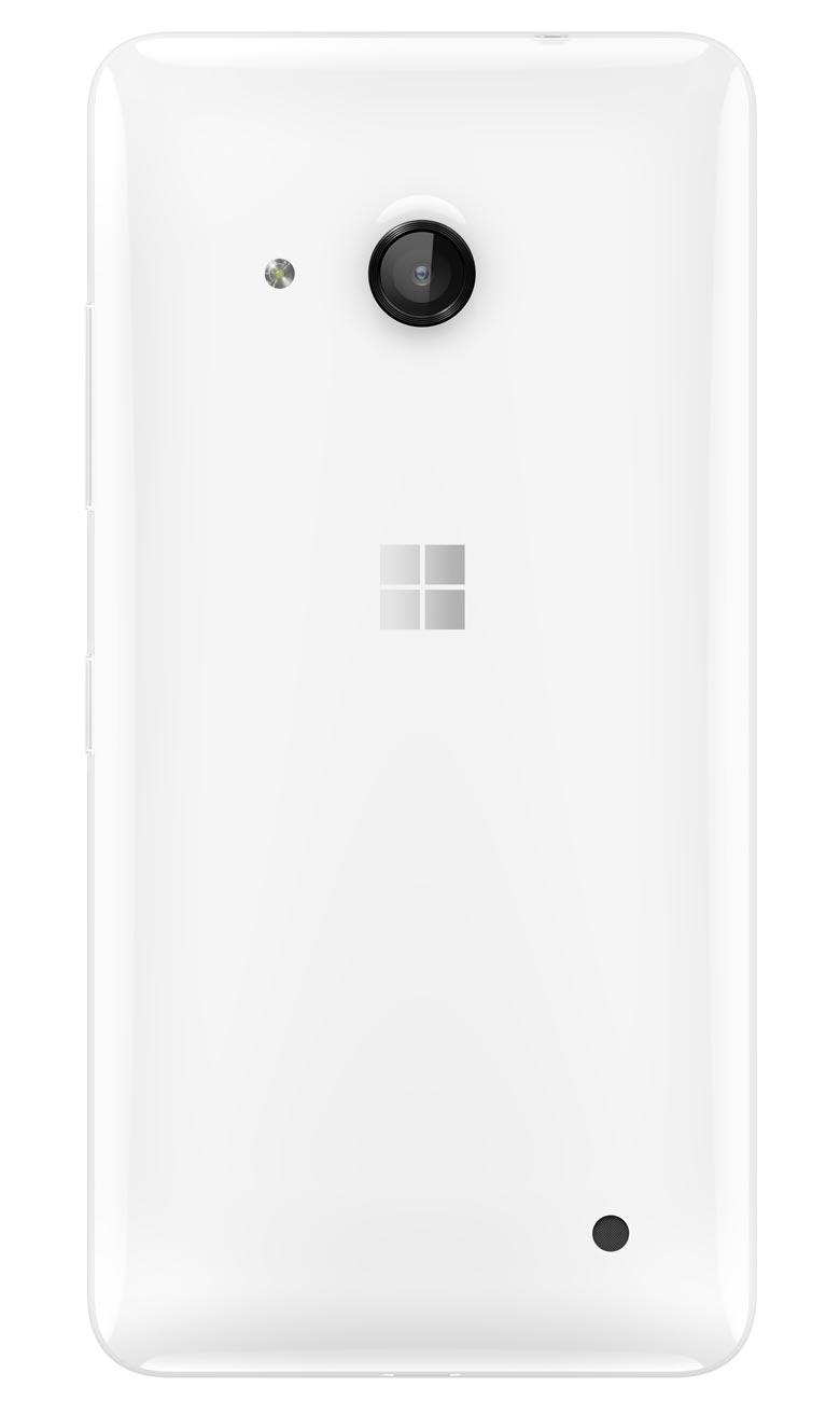 Microsoft Lumia 550 Weiss Rückseite