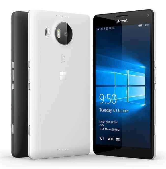 Microsoft Lumia 950 XL Farben