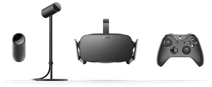 Oculus Rift Lieferumfang