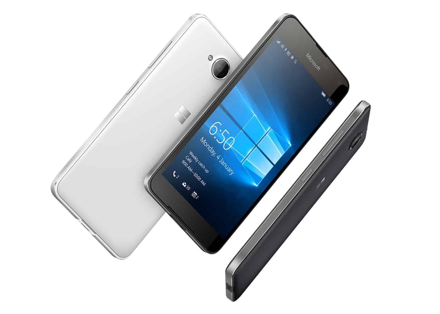 Microsoft Lumia 650 Farben