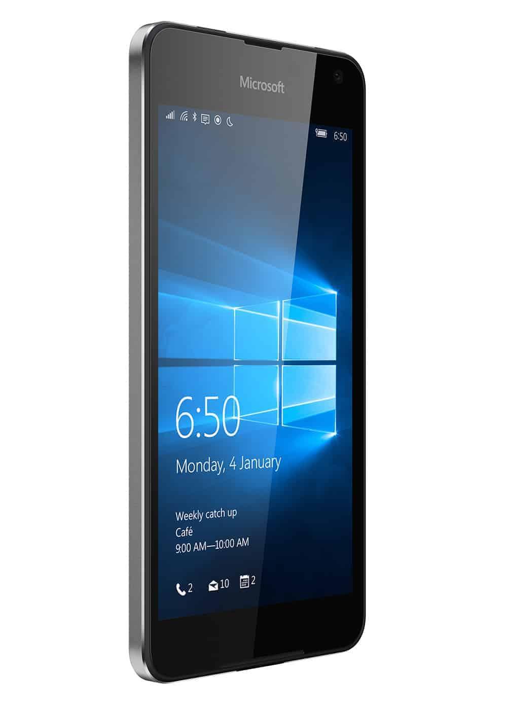 Microsoft Lumia 650 Schwarz Links